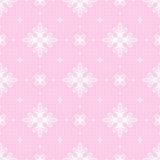 Fundo sem emenda cor-de-rosa com branco a céu aberto Fotografia de Stock Royalty Free