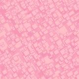 Fundo sem emenda cor-de-rosa do retângulo do vintage Ilustração do Vetor