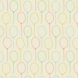 Fundo sem emenda da cor pastel do balão Imagens de Stock Royalty Free