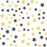 Fundo sem emenda da estrela ilustração stock