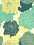 Fundo sem emenda da flor Imagem de Stock