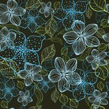 Fundo sem emenda da flor elegante Imagem de Stock