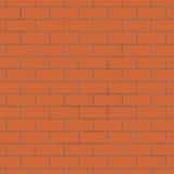 Fundo sem emenda da parede de tijolo Foto de Stock Royalty Free