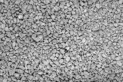 Fundo sem emenda da textura da rocha da entulho do granito Fotografia de Stock