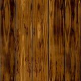 Fundo sem emenda da textura do teste padrão da cerca natural marrom velha escura da madeira cinco Imagens de Stock