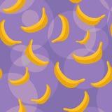 Fundo sem emenda das bananas Fotografia de Stock Royalty Free