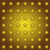Fundo sem emenda das estrelas no vetor Foto de Stock