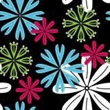 Fundo sem emenda das flores Fotografia de Stock Royalty Free
