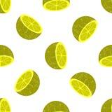 Fundo sem emenda das metades do citrino Imagem de Stock