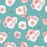Fundo sem emenda das rosas Fotografia de Stock