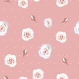 Fundo sem emenda das rosas Fotografia de Stock Royalty Free