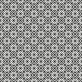 Fundo sem emenda de Art Deco Lattice Vetora Pattern Fotografia de Stock Royalty Free
