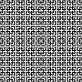 Fundo sem emenda de Art Deco Lattice Vetora Pattern Imagem de Stock