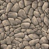 Fundo sem emenda de pedra ilustração do vetor