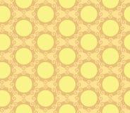 Fundo sem emenda de roda do teste padrão da esfera dos círculos Foto de Stock