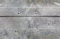 Fundo sem emenda do alumínio do grunge Foto de Stock
