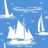 Fundo sem emenda do barco Foto de Stock