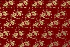 Fundo sem emenda do damasco Imagens de Stock Royalty Free