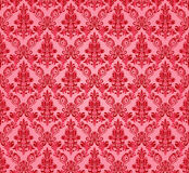 Fundo sem emenda do damasco do vintage Teste padrão floral do motivo Imagem de Stock