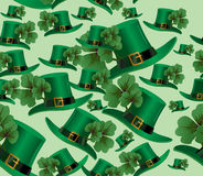 Fundo do dia do St. Patricks imagens de stock royalty free