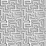 Fundo sem emenda do labirinto Fotografia de Stock