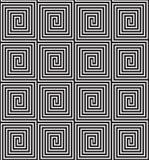 Fundo sem emenda do labirinto Foto de Stock