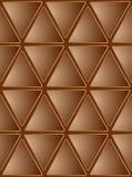Fundo sem emenda do mosaico de Brown Foto de Stock Royalty Free
