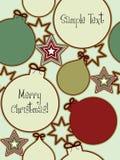Fundo sem emenda do Natal Fotos de Stock