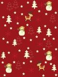 Fundo sem emenda do Natal Fotografia de Stock