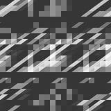 Fundo sem emenda do ornamento geométrico cinzento abstrato Imagens de Stock Royalty Free