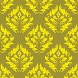 Fundo sem emenda do ouro Imagens de Stock Royalty Free