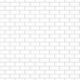 Fundo sem emenda do teste padrão da parede de tijolo Foto de Stock Royalty Free