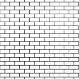 Fundo sem emenda do teste padrão da parede de tijolo Imagem de Stock Royalty Free