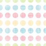 Fundo sem emenda do teste padrão das listras abstratas dos às bolinhas de matéria têxtil Fotografia de Stock Royalty Free