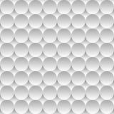 Fundo sem emenda do teste padrão de círculos claros e Imagem de Stock Royalty Free
