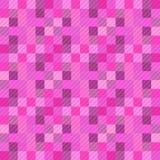 Fundo sem emenda do teste padrão de uma variedade de quadrados coloridos ilustração do vetor