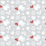 Fundo sem emenda 18 do teste padrão do Natal Imagem de Stock Royalty Free
