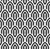 Fundo sem emenda do teste padrão geométrico abstrato do papel de parede do vintage Imagens de Stock Royalty Free