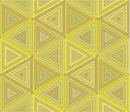 Fundo sem emenda do triângulo abstrato Ilustração Stock