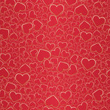 Fundo sem emenda do Valentim Fotos de Stock Royalty Free