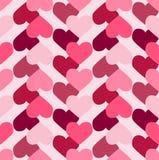 Fundo sem emenda do Valentim Imagem de Stock
