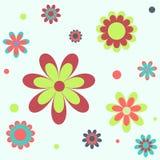 Fundo sem emenda da flor Foto de Stock
