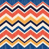 Fundo sem emenda do vetor do teste padrão de matéria têxtil da tela da onda da viga imagens de stock