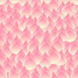 Fundo sem emenda dos lótus cor-de-rosa de Bud Indian ilustração royalty free