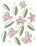 Fundo sem emenda floral Imagens de Stock