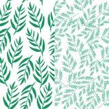 Fundo sem emenda floral do teste padrão Fotografia de Stock Royalty Free
