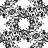 Fundo sem emenda floral do teste padrão do vetor Para decoração dos cartões do Natal e do convite Foto de Stock Royalty Free