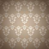 Fundo sem emenda floral do teste padrão do vintage do damasco Imagem de Stock Royalty Free