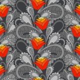 Fundo sem emenda floral do vintage Imagem de Stock