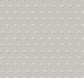 Fundo sem emenda floral. Textura sem emenda geométrica floral bege e cinzenta abstrata Foto de Stock Royalty Free